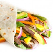 Tangy-Asian-Beef-Wraps