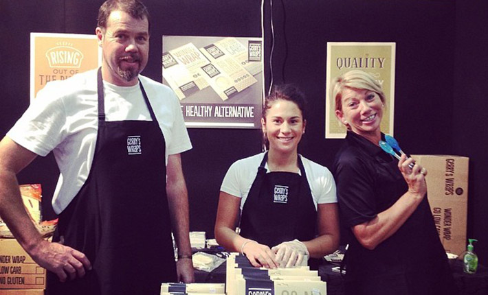 We're looking forward to being in Auckland at this year's Gluten Free Food And Allergy Show. Here we are at Gerry, Abbie and Christine at last year's Gluten Free Food And Allergy Show in Auckland.