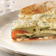 Segment-of-roast-vegetable-and-feta-tart-using-Mountain-Bread-as-base-topped-with-tasty-parmesan