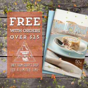Mountain Bread cookbook giveaway